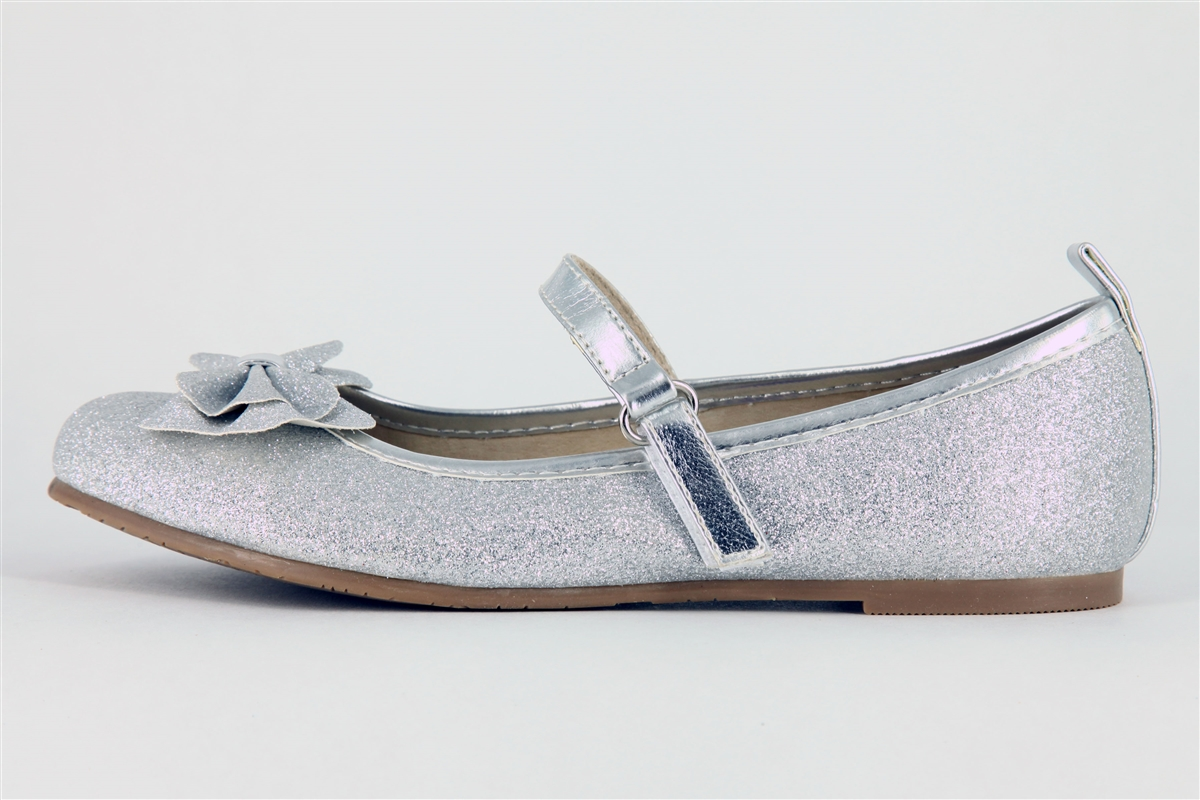Childrens Silver Shoes